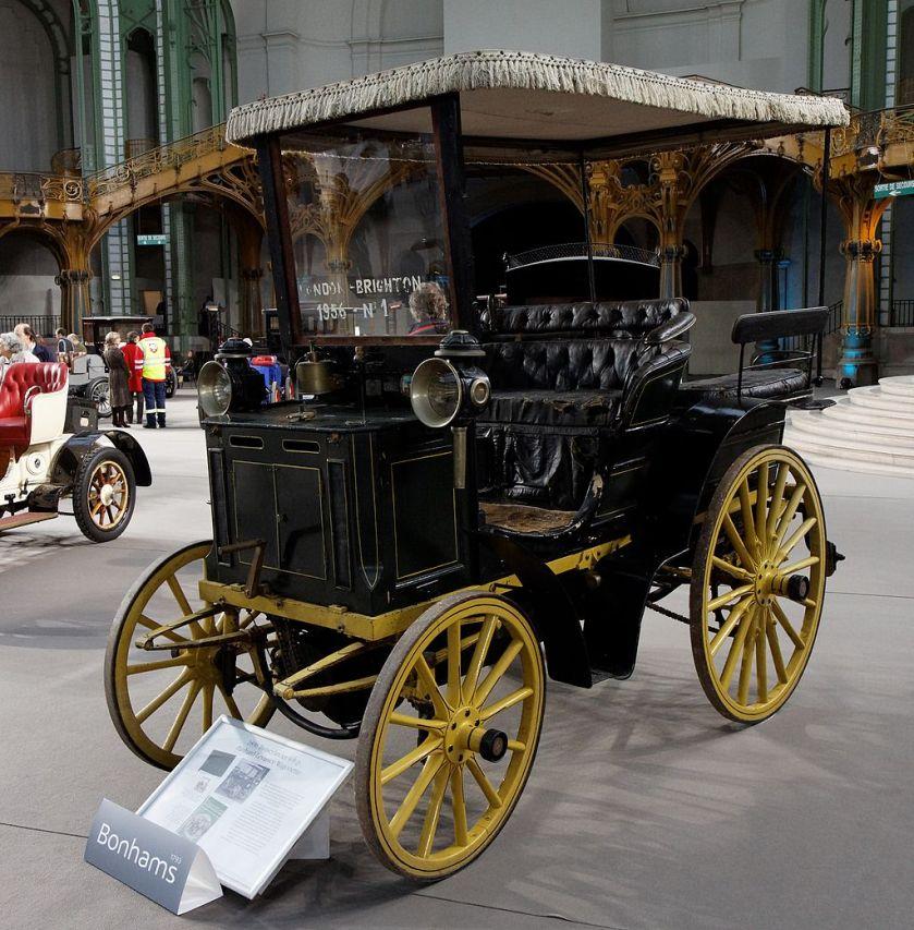 1896 Panhard et Levassor 4 CV with Wagonette body