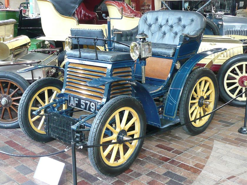 1899 FIAT 4 HP at the National Motor Museum, in UK