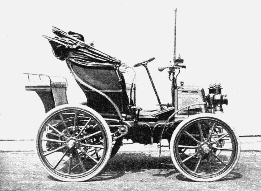 1900 Panhard et Levassor automobile