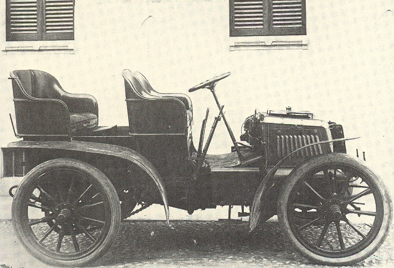 1901 Fiat 12 HP double Phaeton