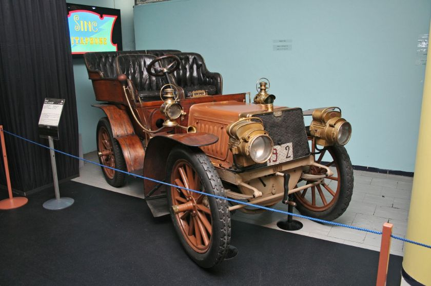 1902 Fiat 12 HP dell Automobile