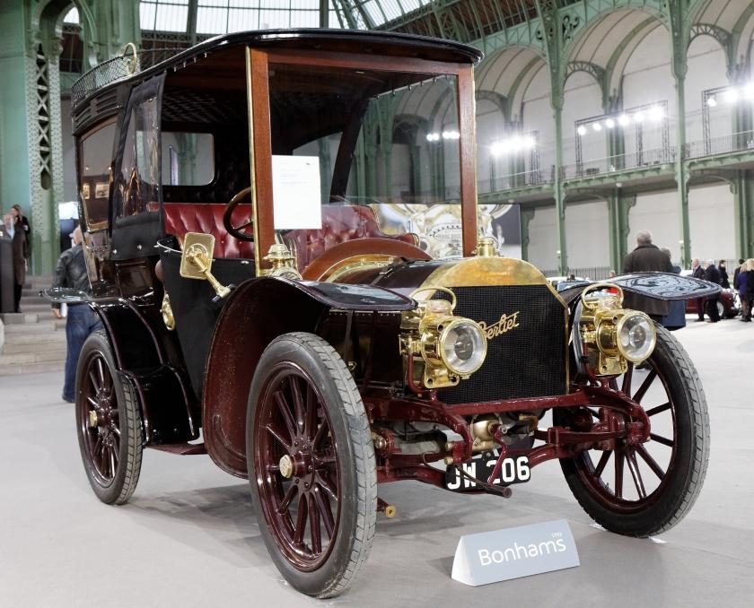 1903 Berliet 20 CV Demi-limousine