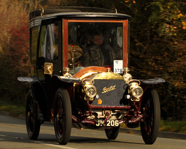 1903 Berliet 20HP Closed swing-seat tonneau