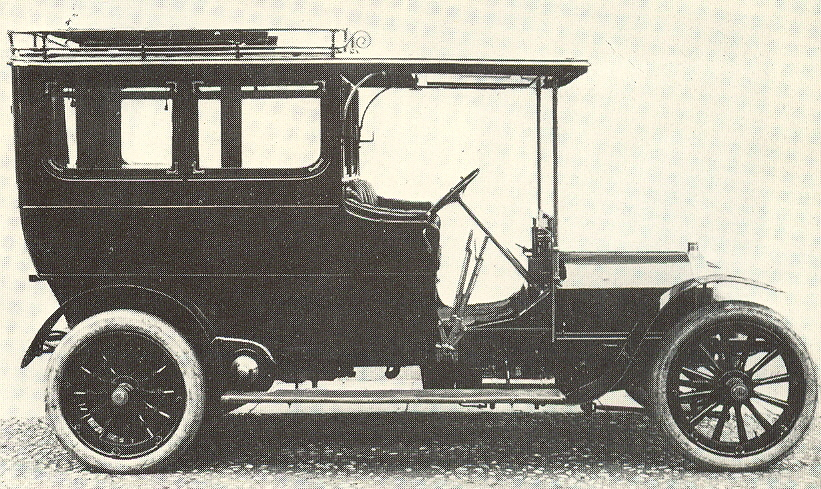 1903 Fiat 16-24hp Coupe-Sedan