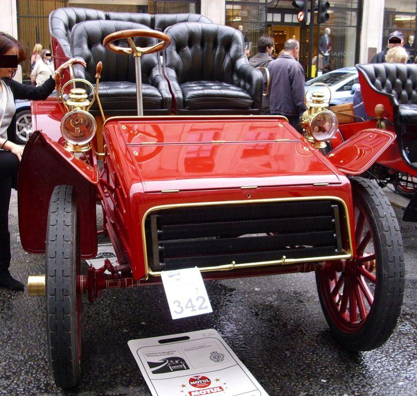 1903 Packard Modell F, Einzylinder