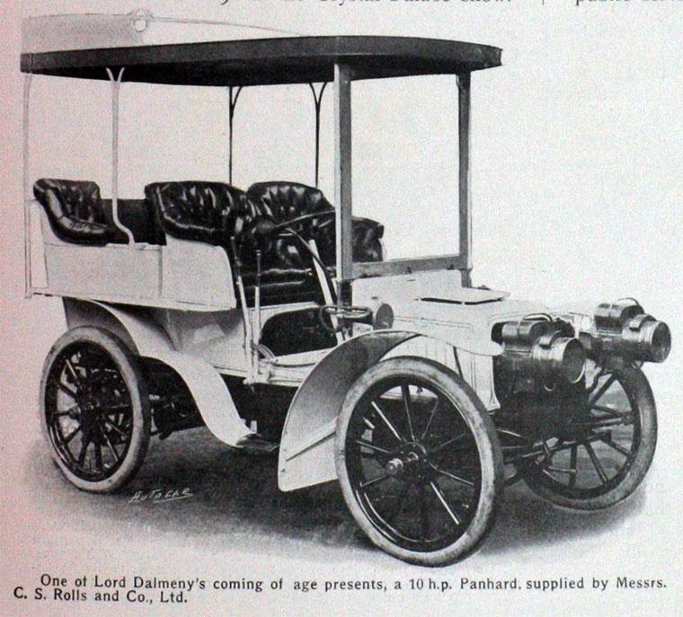 1903 Panhard-Levassor