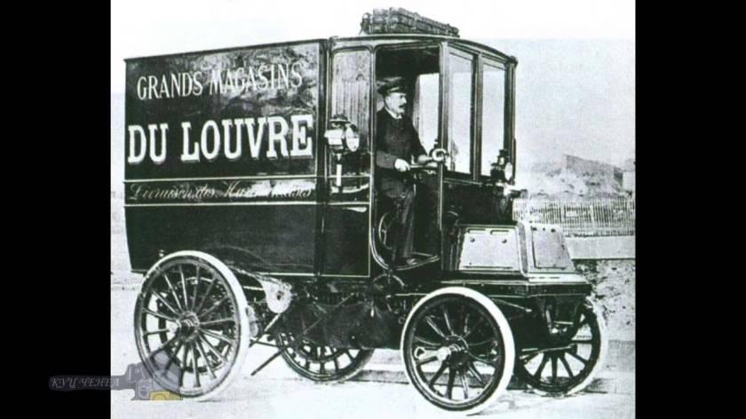 1904 Panhard Levassor truck