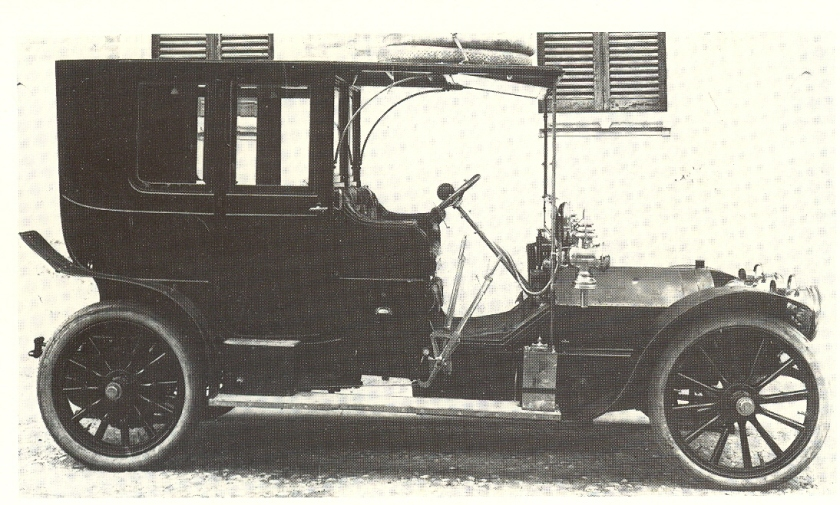 1906 Fiat 24-40 hp Coupe-Sedan