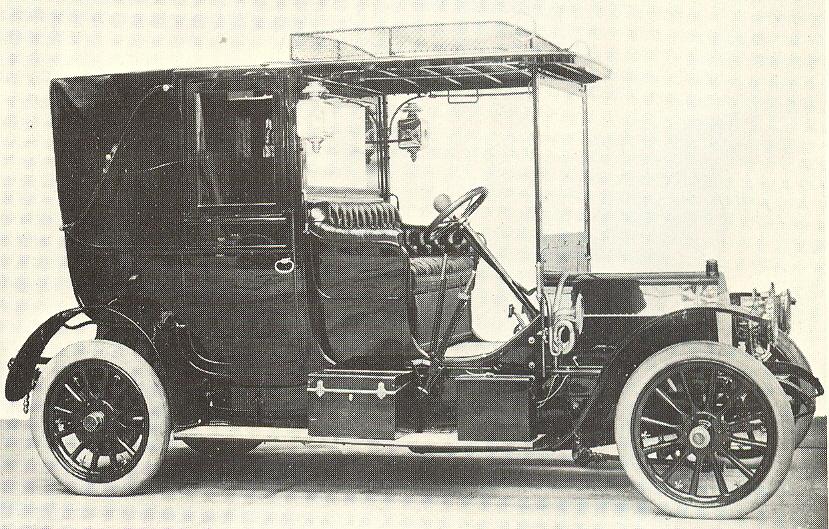 1906 Fiat Brevetti Cabriolet Royal