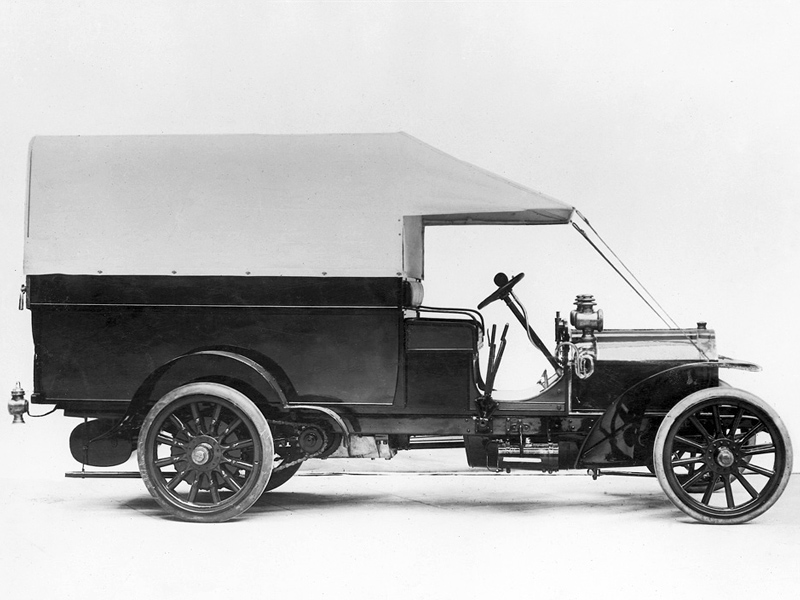 1906–08 Fiat 18-24 HP Camion