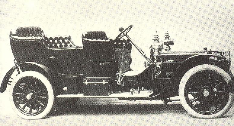 1907 Fiat 50 hp