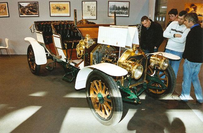 1908 BERLIET C2 22HP DOUBLE PHAETON