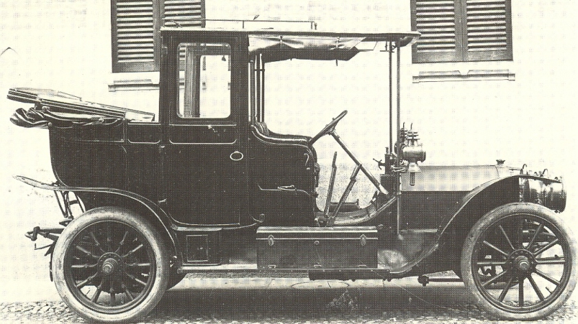 1908 Fiat 28-40 hp Cabriolet-Royal