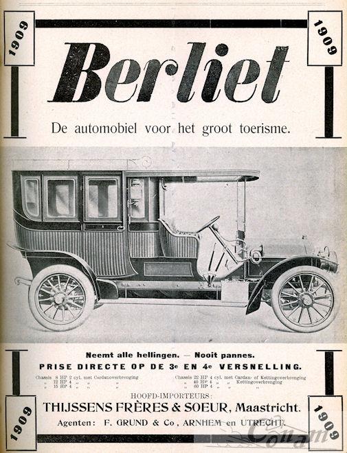 1909 Berliet thijssens