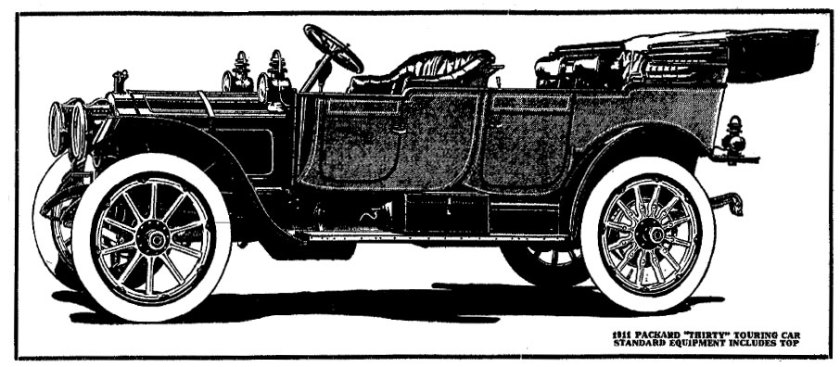 1910 Packard Advertisement - Indianapolis Star, May 22, 1910