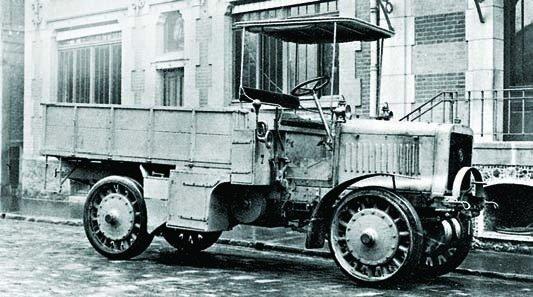 1911 Panhard-Chatillon К-11, 4x4