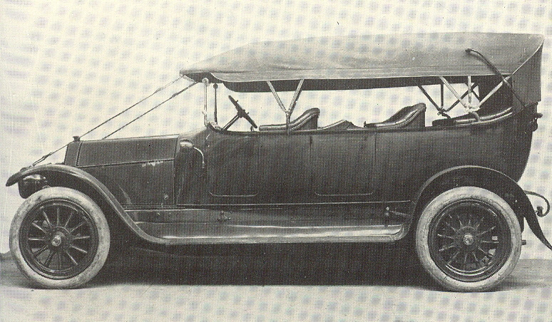 1912 Fiat Tipo 6 Torpedo