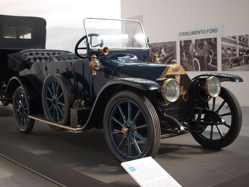 1912 Fiat Zero blue