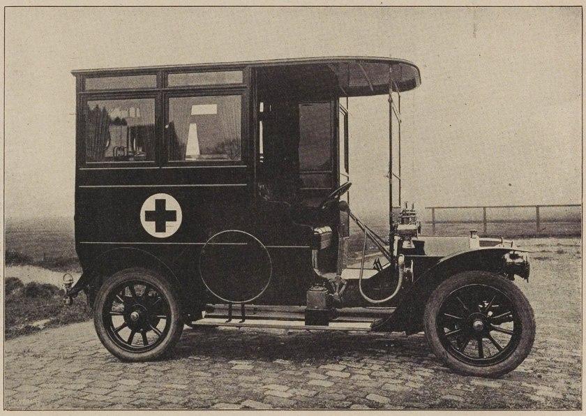 1913 FIAT Ambulance Pennock Den Haag NL
