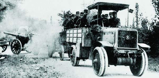 1913 Panhard-Chatillon К-13, 4x4