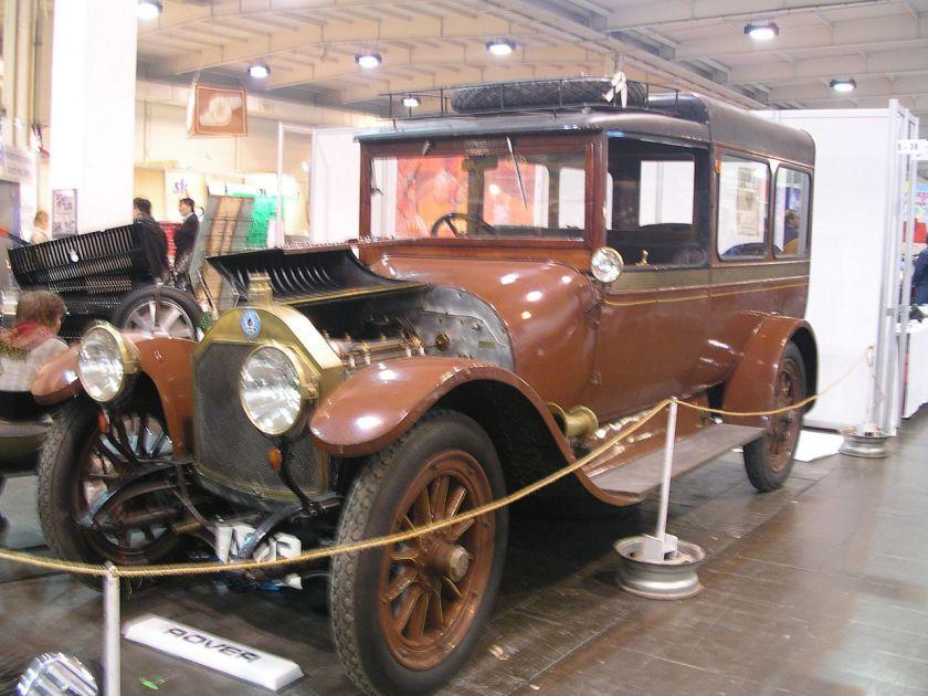 1914 Berliet limousine