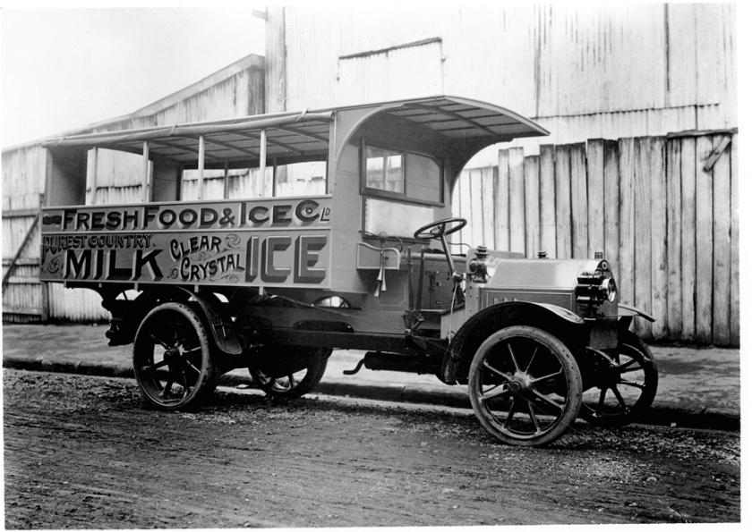 1914 Fiat autocarro 18BL