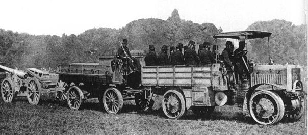 1914 Tracteur Chatillon-Panhard