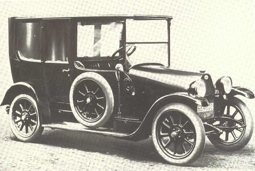 1915 Fiat Tipo 70 Sedan
