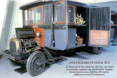1916 Packard Funeral bus