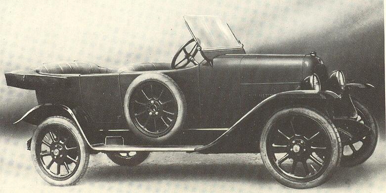 1919 Fiat 501 in versione torpedo