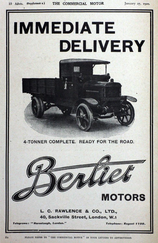 1920 Berliet
