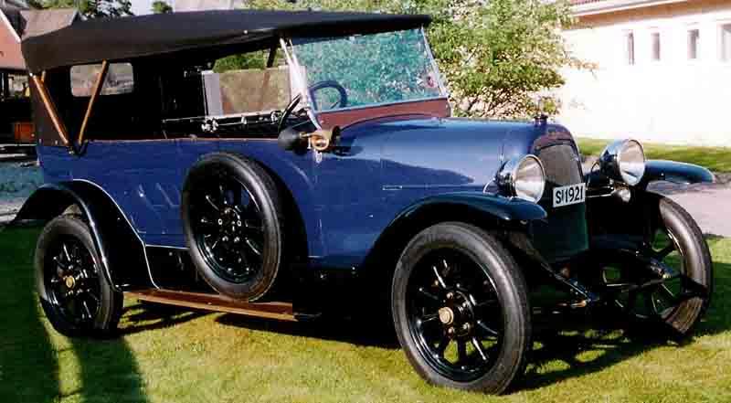 1921 Fiat 505 Torpedo