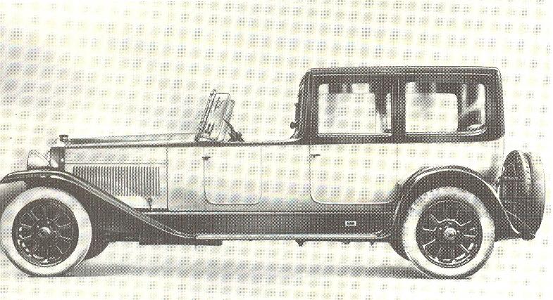 1921 Fiat 520 Superfiat Dorsay-Torpedo