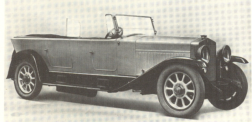 1921 Fiat 520 Superfiat