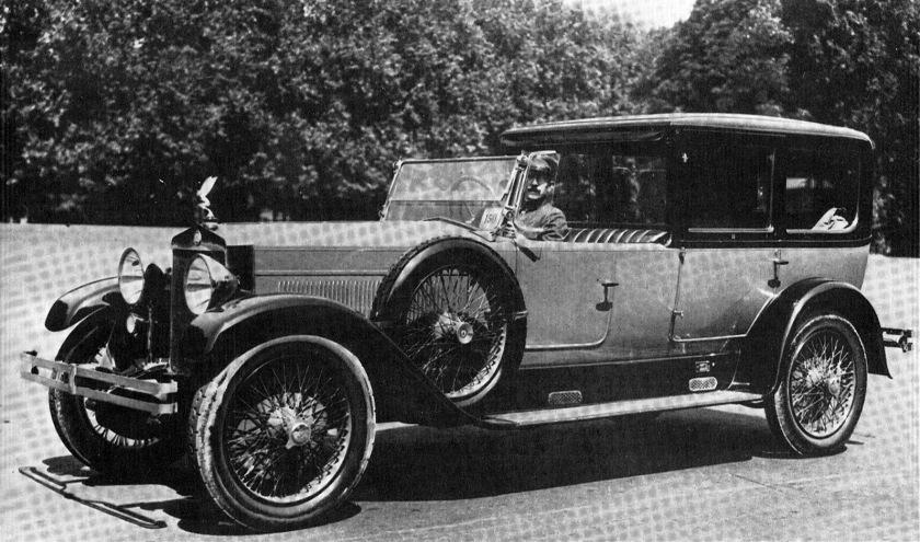 1922 Fiat 519 prima serie Coupé-Limousine