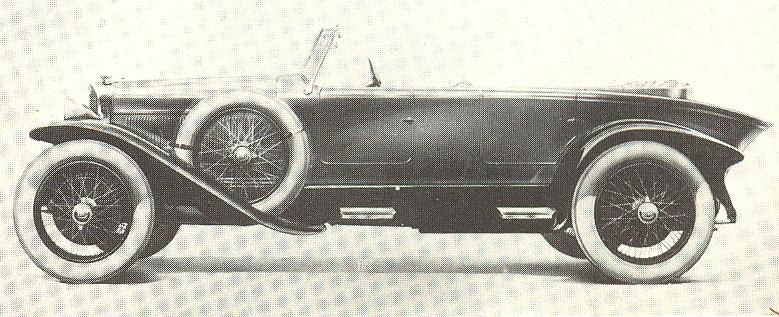 1922 Fiat 519 Torpedo Sport
