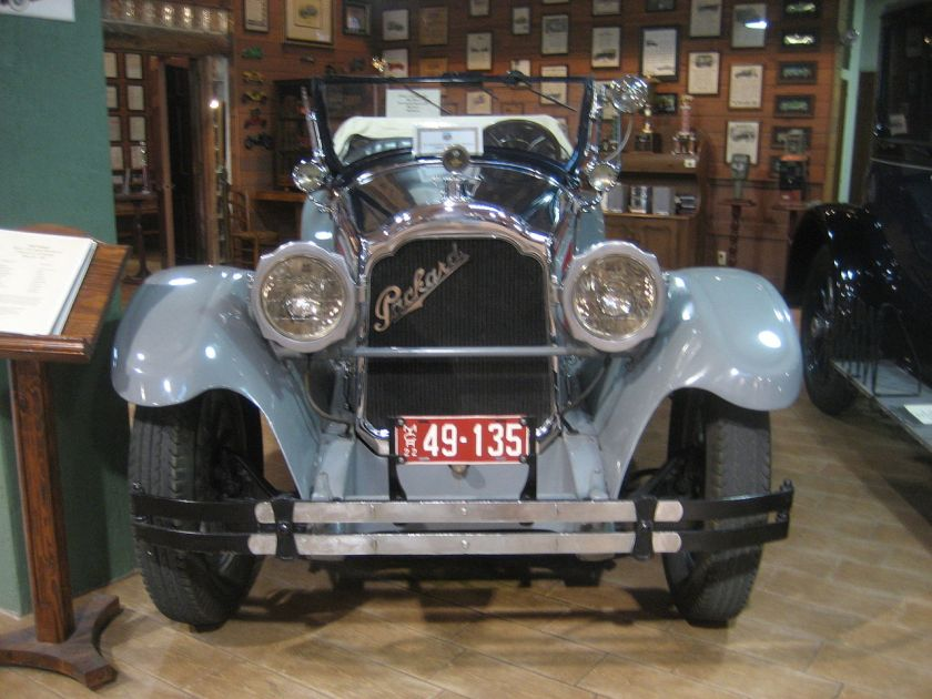 1922 Packard Single Six 126 Sportmodell, vierplätzig