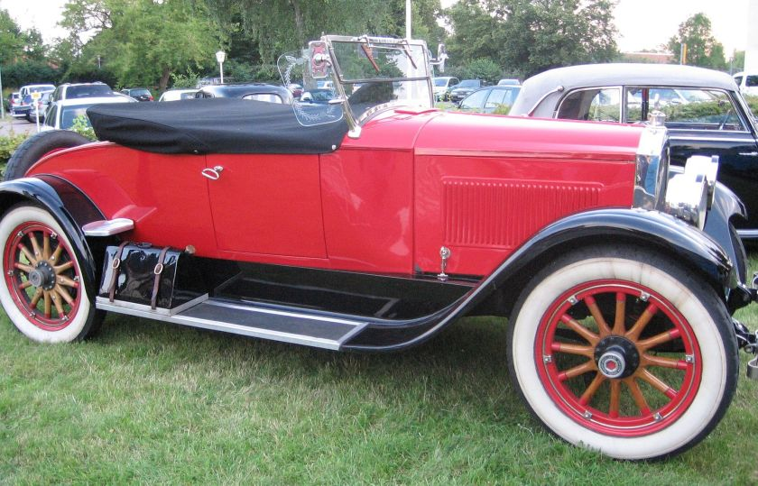 1922 Packard Single Six Modell 126 2-pass. Runabout