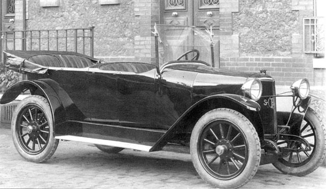1922 Panhard 10HP Torpédo uit