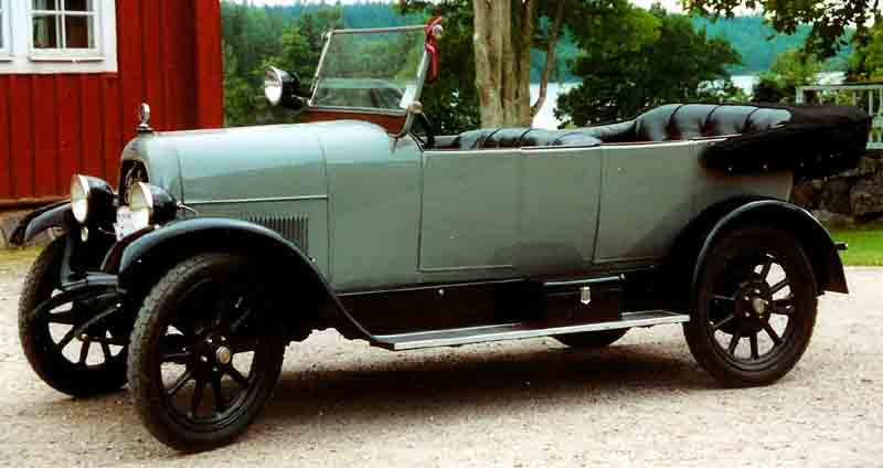 1923 Fiat 501 Torpedo