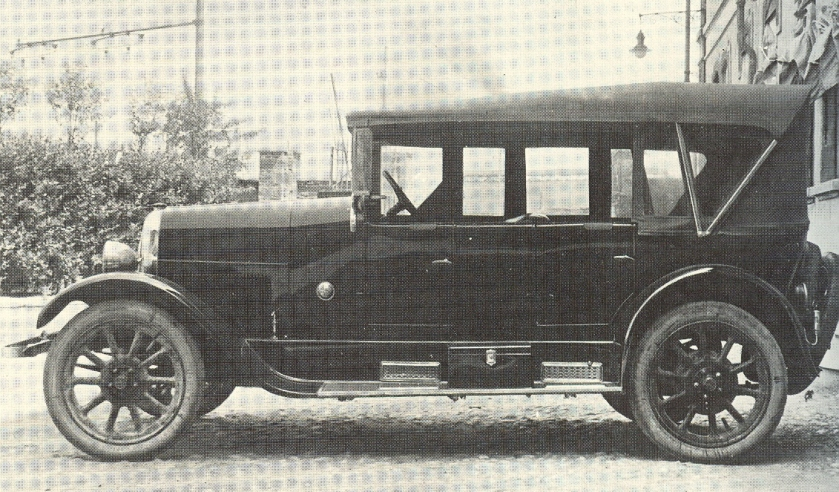 1923 Fiat 502 Luxury Torpedo