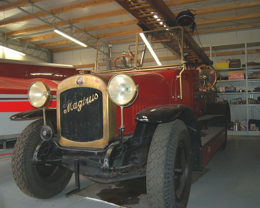 1923 Magirus Fire Engine Model Bayern