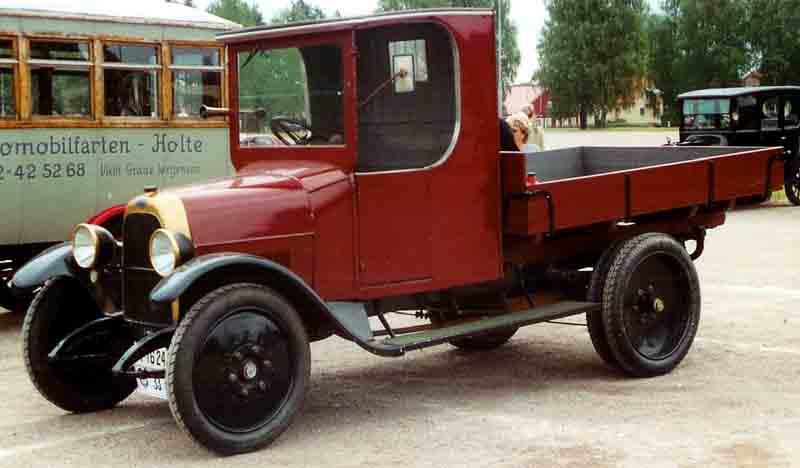 1924 Fiat 505F Truck