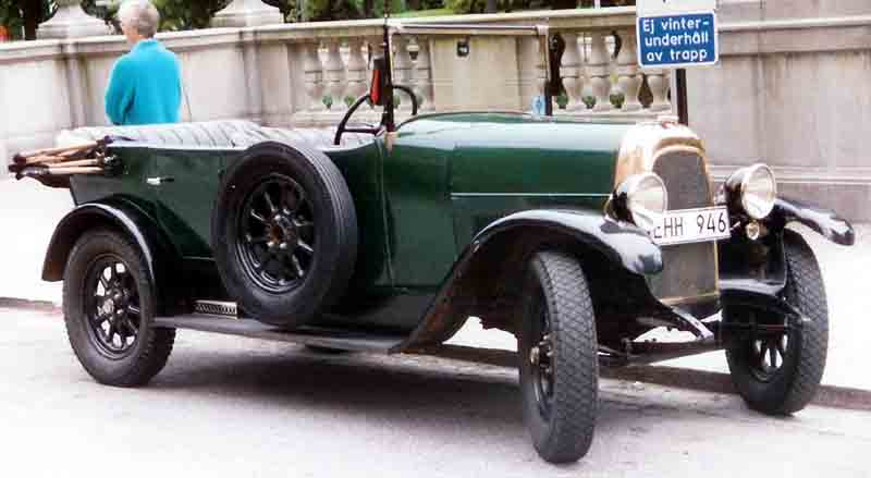 1925 Fiat 501 Torpedo