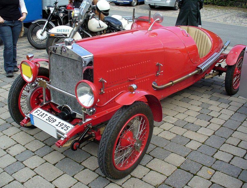 1925 Fiat 509 SM