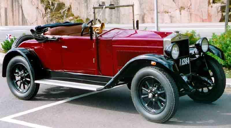 1925 Fiat 509 Spider