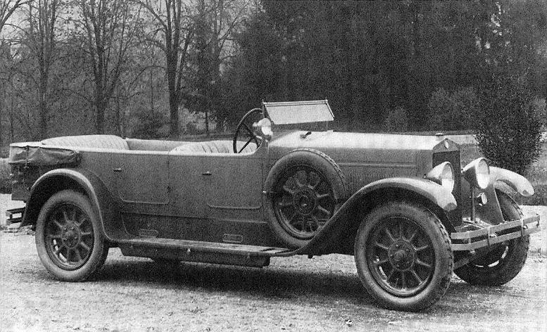 1925 Fiat 519 B Torpedo
