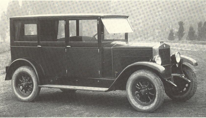 1926 Fiat 503 Weymann