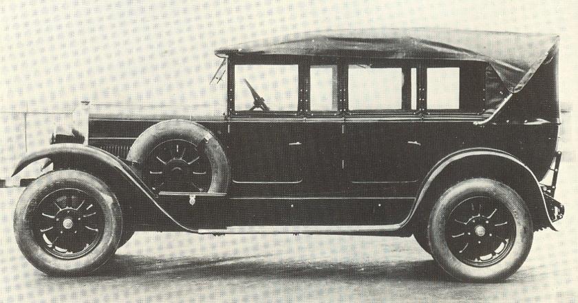 1926 Fiat 507 Torpedo