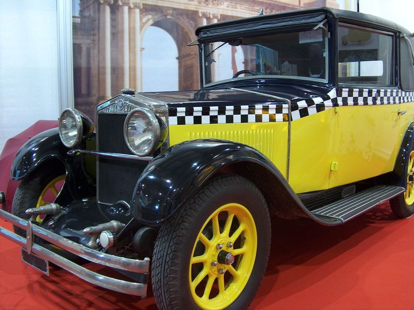 1926 Fiat 509 at the European Motor Show Brussels 2006